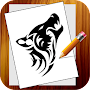 Learn to draw tattoos APK icon