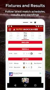 SuperSoccer TV- screenshot thumbnail