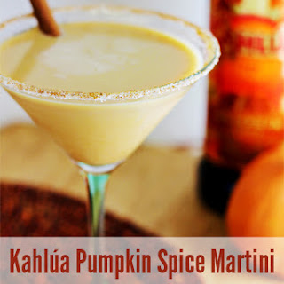Kahlúa Pumpkin Spice Martini.