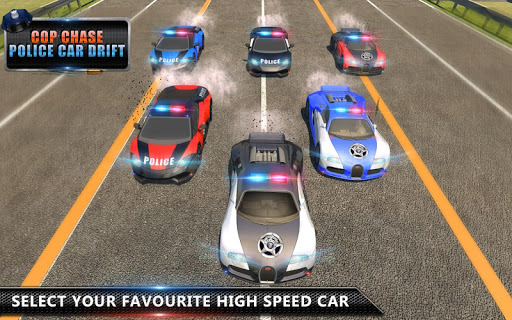 Cop Chase - Police Car Drifting Simulator 2018  screenshots 5