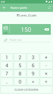 Monefy Pro - Gestor de dinero Screenshot