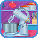 chocolate cookies-girls cooking games icon