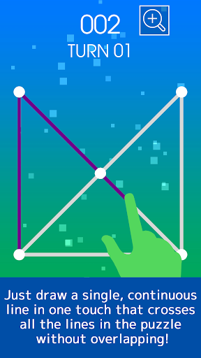 One Touch Drawing Puzzle smart ONE LINE apktreat screenshots 2