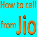 How to call from JIO v 1.0 app icon