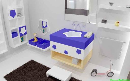 アクセサリーバスルームのデザインのアイデア
