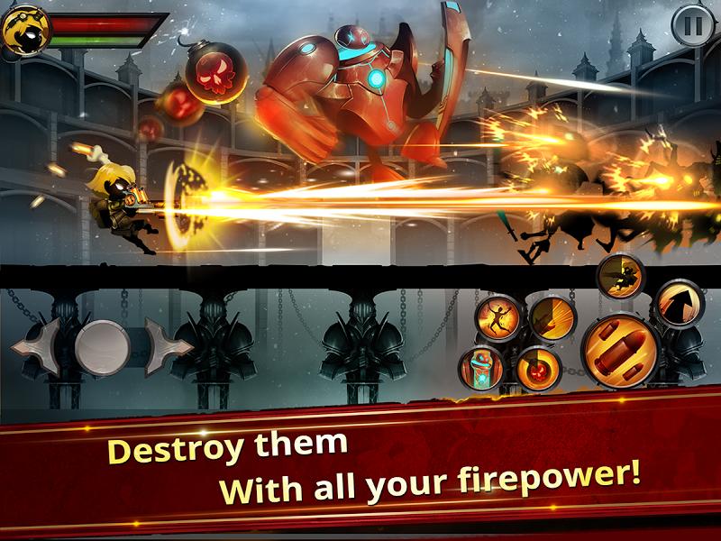 Stickman Legends - Ninja Warriors: Shadow War Screenshot 1