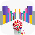 Roll It Up Catch It Up - Jumping Rolling Ball Race icon