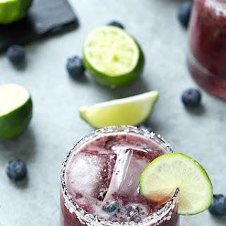 Skinny Blueberry Margarita