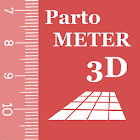 Partometer3D - camera measure icon