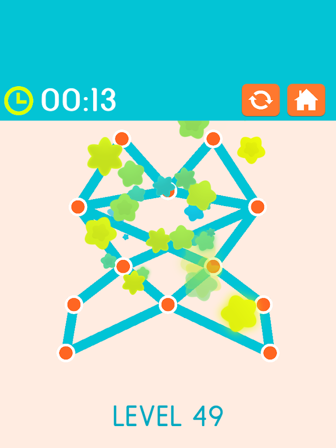 Follow the Line, Connect Dots: Fun Drawing Puzzles- screenshot