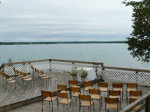 Photo: Lighthouse lounge deck wedding