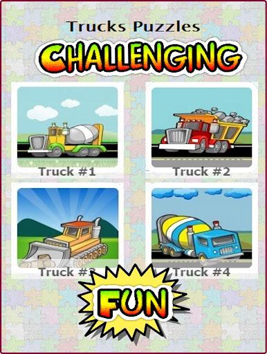 Aeroplane Truck Puzzles Kids