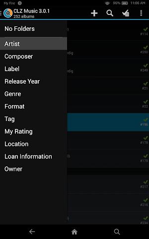 android CLZ Music - Music Database Screenshot 7