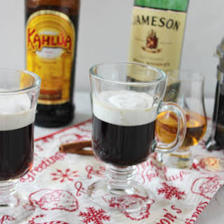 Irish Coffee With Kahlua.