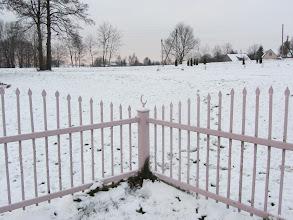 Photo: Raižių mečetės tvora