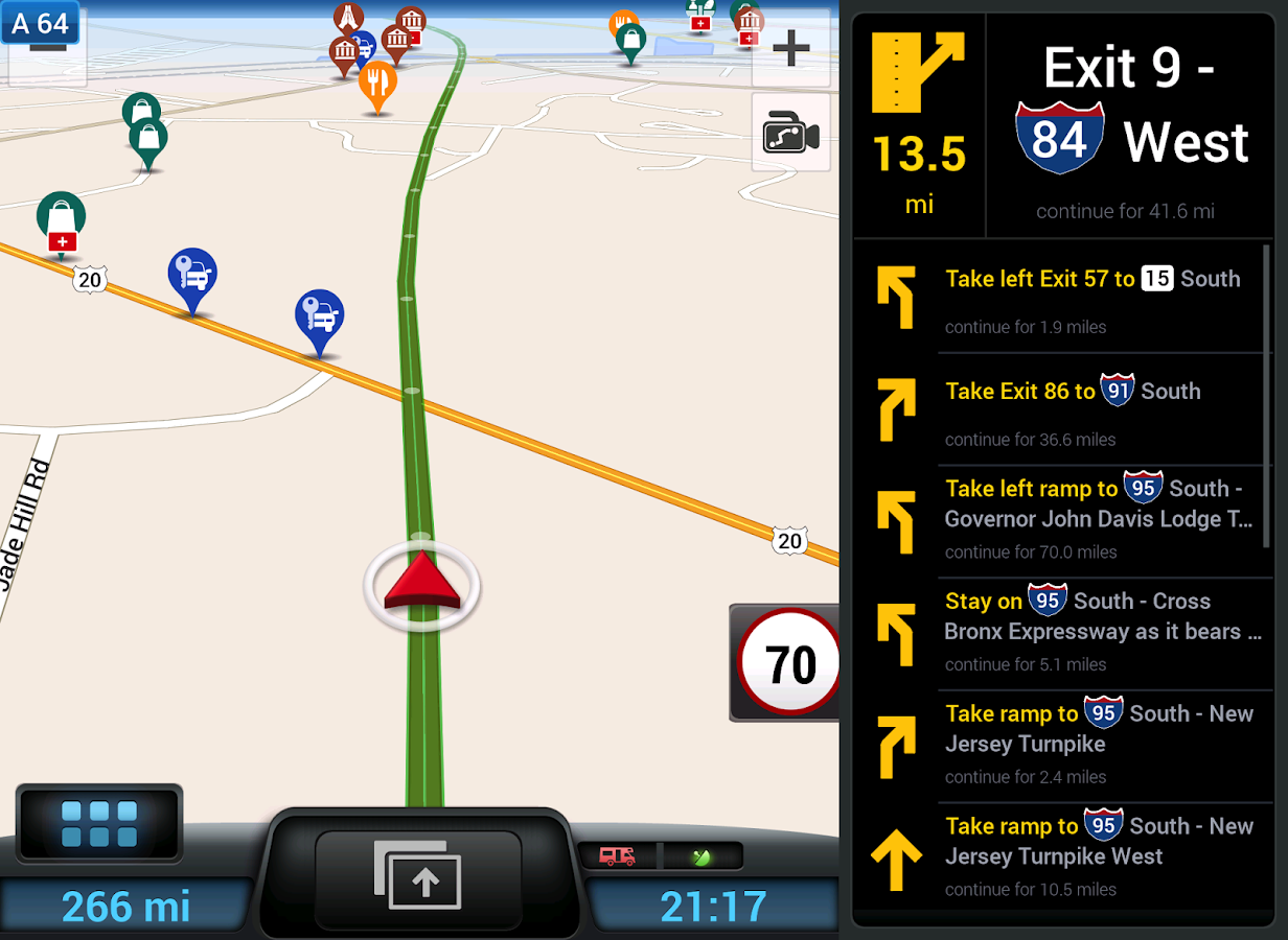 CoPilot RV USA- GPS Navigation- screenshot