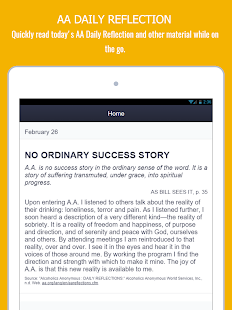 AA App  - 12 Steps Toolkit - Alcoholics Anonymous- screenshot thumbnail
