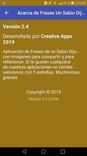 Frases Un Sabio Dijo ... 2.4 screenshots 2
