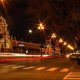 CHRISTMAS IN KANSAS CITY by Dana Johnson - Public Holidays Christmas ( chirstmas, street, kansas city, christmas lights, holiday )