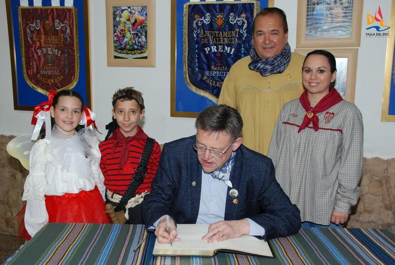 Visita del Presidente de la Generalitat Ximo Puig