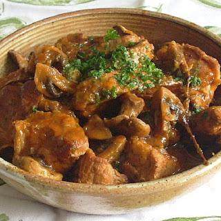 Pressure Cooker Veal Marengo