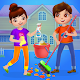 Kids House Cleaning - Messy Kids House Helper (game)