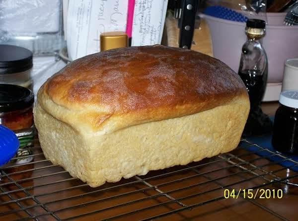 Cin's Beautiful Homemade Bread Recipe