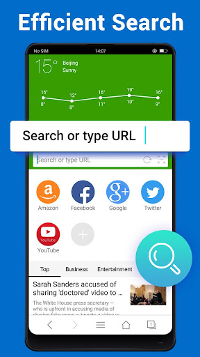 Web Browser - Fast, Private & News Apk 2