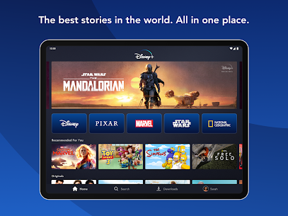 Disney Plus MOD APK 1.2.1 ( Free Premium Subscription ) 6