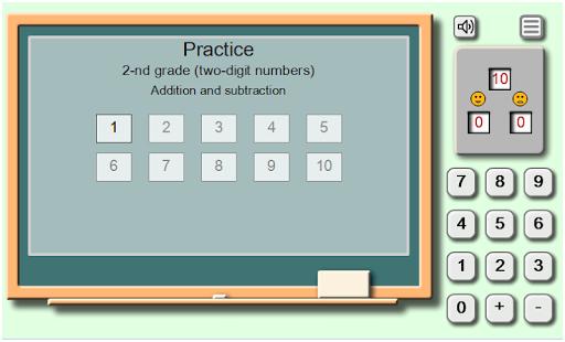 Math on chalkboard - náhled