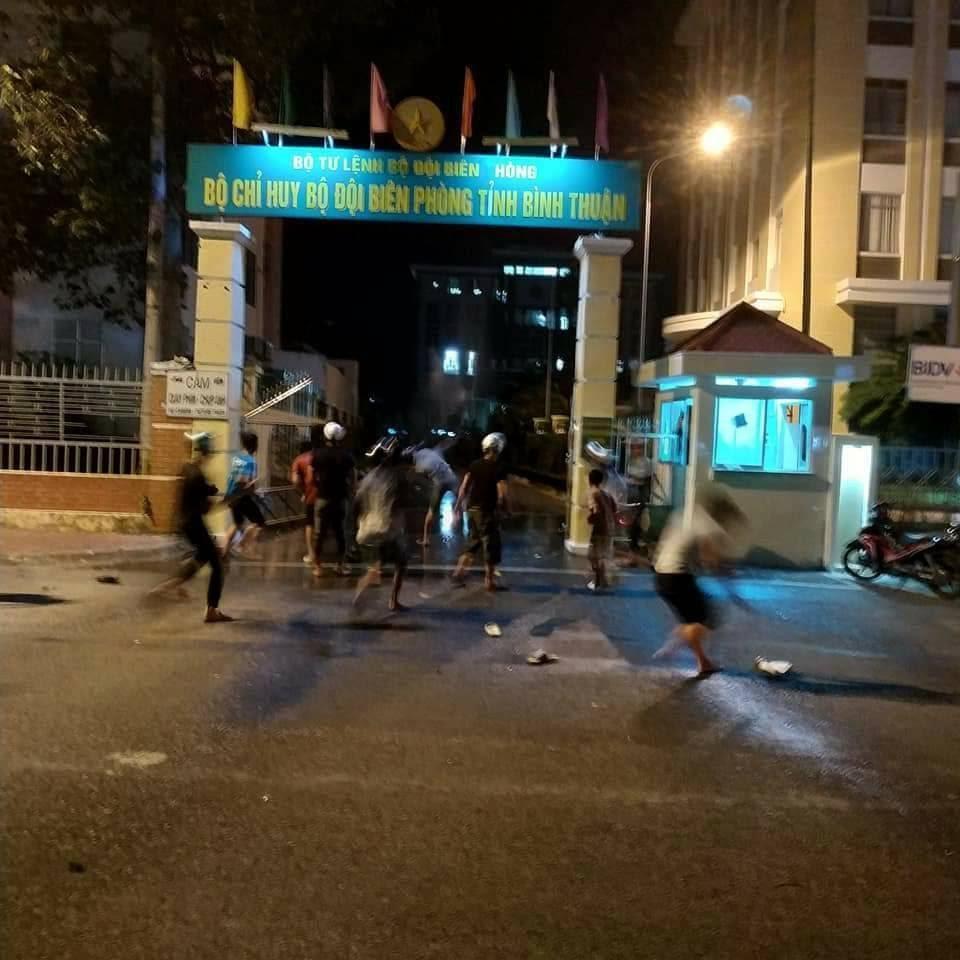 chống đối tại Bình Thuận