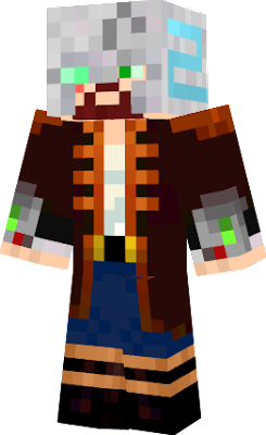 Newest version of my skin, done a lot of work on the face under the mask.