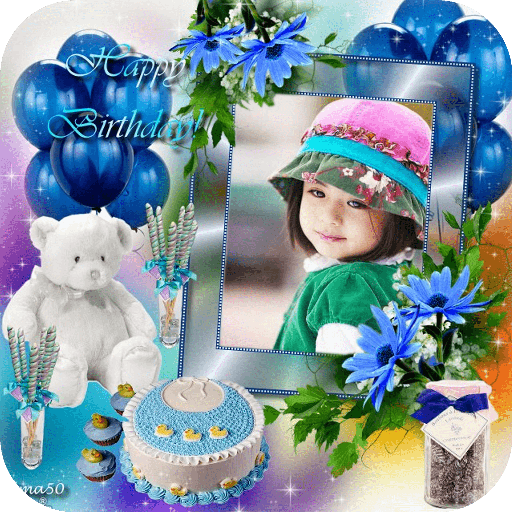 Birthday Cake Photo Frame file APK Free for PC, smart TV Download