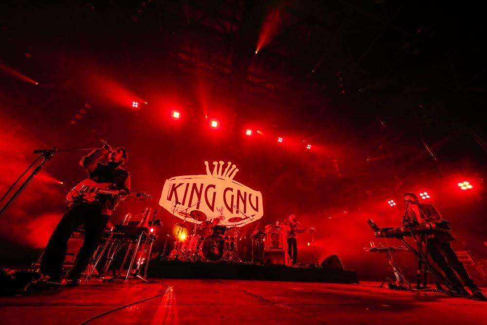 COUNTDOWN JAPAN 19/20 怪物樂團 King Gnu 直攻主舞台