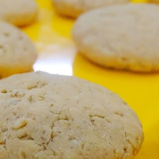 Egg Less Whole Wheat- Oatmeal Cookies Recipe
