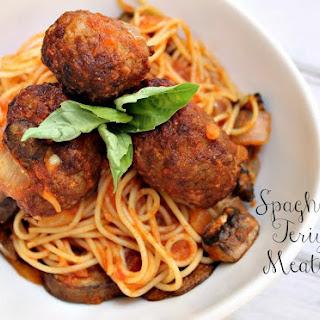Spaghetti & Teriyaki Meatballs