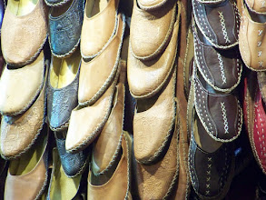 Photo: Shoes at... Khan Al-Khalili.