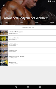 Gym Guide - Fitness assistant- screenshot thumbnail
