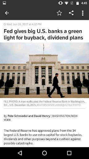 Reuters News Screenshot