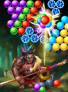 Brutal Tribe Bubble Shooter - náhled