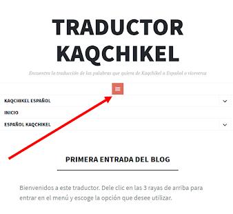 Traductor Kaqchikel Español o Viceversa - náhled