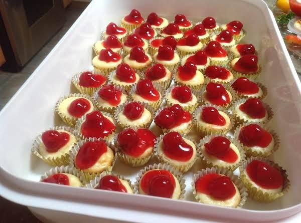 Gingerbread Amaretto Mini Cheesecakes Recipe Just A
