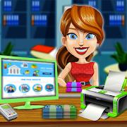 Real Bank Manager Cash Register - Kids Banker Game