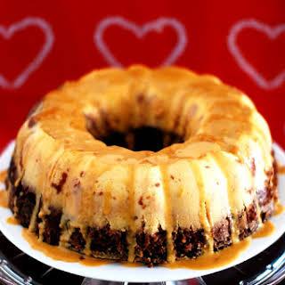 Chocolate Flan Cake.