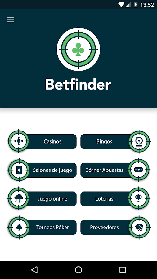 Betfinder- screenshot