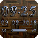 PARIS Digital Clock Widget