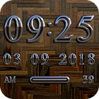 PARIS Digital Clock Widget icon
