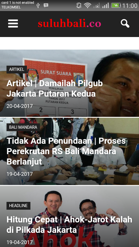 Suluh Bali News- screenshot