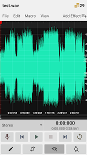 WavStudio™ Audio Recorder & Editor (Unreleased) Screenshot