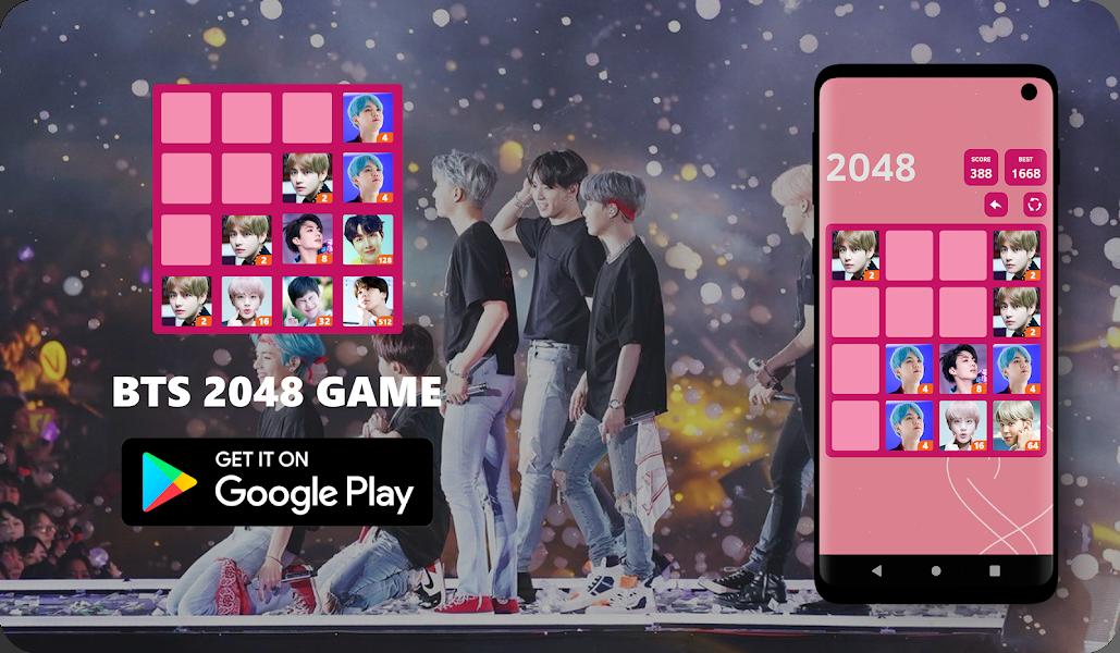BTS 2048 Game